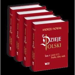 Tom 1,2,3,4 Andrzej Nowak